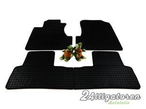 4 x Gummi-Fußmatten ☔ für HONDA CRV III 2006 - 2011