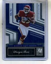 DWAYNE BOWE 2007 DONRUSS ELITE ROOKIE PROMO /50 CHIEFS