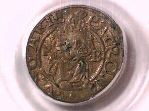 1558 - KB Denar PCGS Genuine Hungary 19566002