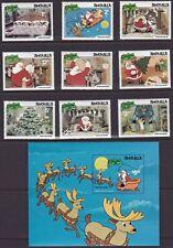Anguilla - 453-462 - Disney Christmas - 9 stamps & souvenir sheet - 1984 - B8984