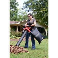 Craftsman Leaf Blower Vac 2 Speed 12 AMP Lawn Yard Vacuum Mulcher with Bag Kit