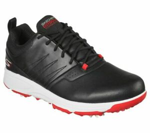 Skechers GO GOLF Torque Pro 214002 Waterproof Golf Shoe - Black/Red