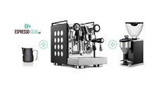 Rocket Espresso Appartamento Espressomaschine mit Wassertank - 1,8L, Schwarz/Weiß (RE501B1W11)