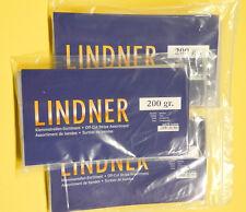 Z4-1) Original Lindner Klemmstreifen Kiloware 100 g. durchsich I. Wahl , W10200