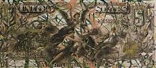 Steve Kaufman SAK - 1896 $5 Five Dollar Bill - Original Embellished Screenprint