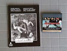 "PIT-FIGHTER   Cartridge W/manual Lynx Atari Gameplayers! Rare New ""NO BOX"""