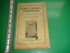 JD220 Vintage Sept.1931 Pubic School Messenger Book History of St.Louis MO