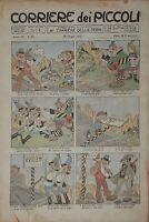 Libri Ragazzi - Corriere dei Piccoli - N. 25 - 20 Giugno 1915 - Ill. A. Rubino
