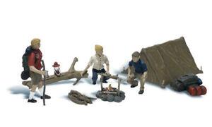 Woodland Scenics HO Campers ~ A1917