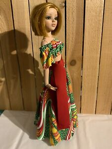 """Ellowyne Wilde 16"""" Doll Tonner Outfit Fashion Gown - Tribal Peasant Skirt Set"""