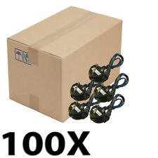 Lot 100X 1.5m C5 UK Mickey Mouse Clover Leaf Laptop Mains Power Cable UKDC