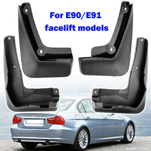4x For BMW 3 Series E90 E91 08-12 Mud Flaps Front Rear Splash Guards Mudguards