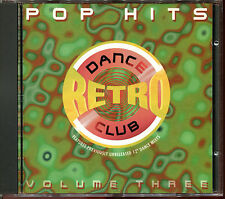 DANCE CLUB RETRO - VOLUME THREE POP HITS - MAXI VERSIONS - CD COMPILATION [3003]