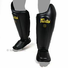 Fairtex SP8 Ultimate Shin Instep Guards Muay Thai Pads Sparring Kick Boxing