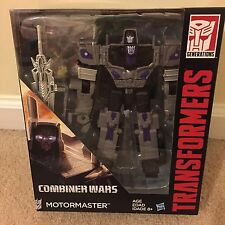 motormaster transformer combiner Wars New Sealed Box