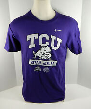 2011 Texas Christian Univeristy TCU Men's Football BCS Bowl Purple Shirt New S