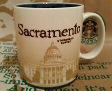 Starbucks Coffee Mug/Tasse/Becher SACRAMENTO, Global Icon, NEU und unbenutzt!!!!