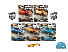 Hot Wheels Car Culture Cruise Boulevard Complete Set 1-5