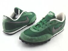 NIKE Retro Waffle Racer Shoes Green Gray 303918-333 Mens US 10 EU 44