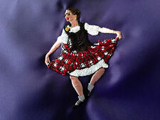 Personalised Highland Dancer Shoe/Tote/School/PE Drawstring Bag