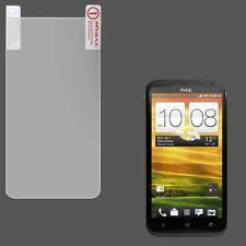 For AT&T HTC ONE X Clear LCD Screen Protector Guard with Cleaning Cloth