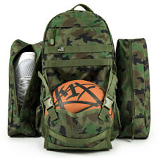 K1X Basketball Backpack on a mission Backpack Camouflage with Ball Net