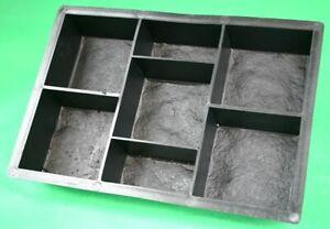 Kopfsteinpflaster Form für 7 Pflastersteine, Schalungsform, Gießform, Schablone