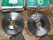 Citroen Peugeot solid front brake discs incl BX 305 405
