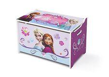 Delta Children Disney Frozen Wooden Toy Box, Kids Storage Unit & Toy Chest