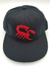 Vintage Scottsdale Scorpions New Era Fitted Hat Deadstock Rare 6 7/8 90's 5950