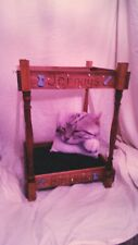 Chihuahua Dog 4 poster bed Handmade & Personalised XMAS SALE