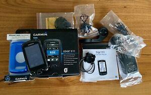 Garmin Edge 810 Cycle GPS Computer, Boxed, Mounts, Charger, Silicone Case, VGC