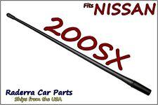 "FITS: 1995-1998 Nissan 200SX - 13"" SHORT Custom Flexible Rubber Antenna Mast"
