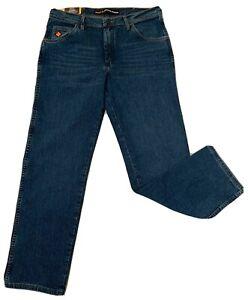 Wrangler Flame Resistant FR Advanced Comfort Jeans Size 35W 32L