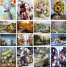 Home Decor Canvas DIY Digital Oil Art Painting Kit Paint by Numbers No Frame