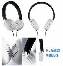 Philips SHL5003/10 GoGear Headphones White/Black **GREAT PRICE ** RRP £39.99