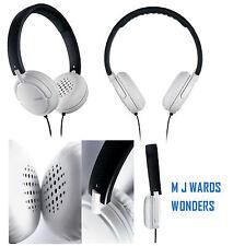 Philips SHL5003/10 GoGear Headphones White/Black **GREAT PRICE ** RRP £39.99