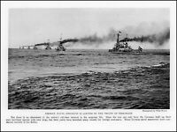 1928 Germany German naval ships maneuvers Baltic Sea vintage photo article ads61