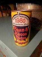 1980 BEAN & BACON DAYS PREMIUM BEER * L@@K *