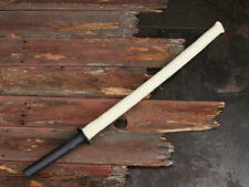Fire Sword, Wood Bokken Katana with Kevlar Wick and Slip Resistant Grip - Boken