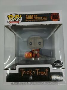 Funko POP Trick R Treat Sam W/Pumpkin Spirit Exclusive Halloween Figure #1002