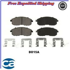 Front Disc Brake Pads ceramic D815 fits,  02-06 Nissan, Infiniti