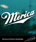 Merica STICKER VINYL DECAL MILLER COORS PARTY USA COUNTRY