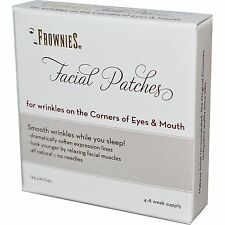 2 Frownies Wrinkle Remover Corner of Eyes & Mouth 144 Facial Patches TrackingNo