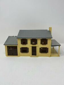 1950s Plasticville 2 - Story Brown Colonial House by Bachmann Brothers