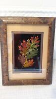 Leaf Lines Booker Morey Black Oak Leaves Wall Art Fall Artist Numbered Signed