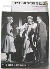 Body Beautiful Mindy Carson Jack Warden Elizabeth Taylor Mike Todd Vic Damone