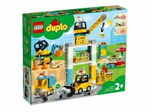 NEW LEGO DUPLO TOWER CRANE AND CONSTRUCTION SET 10933