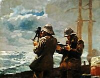 Eight Bells by Winslow Homer. Giclee Boat Art Print Repro choose Canvas or Paper