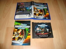 NEED FOR SPEED UNDERGROUND 2 DE EA GAMES PARA LA SONY PS2 USADO COMPLETO